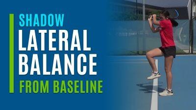 Lateral Balance (Shadow from the Baseline)