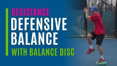 Defensive Balance (With Balance Disc)