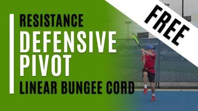 Defensive Pivot (Linear Bungee Cord)