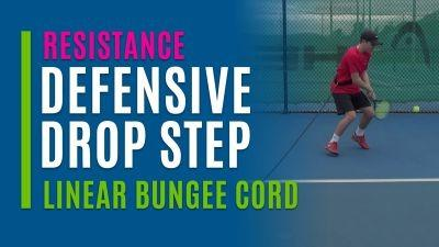 Defensive Drop Step (Linear Bungee Cord)