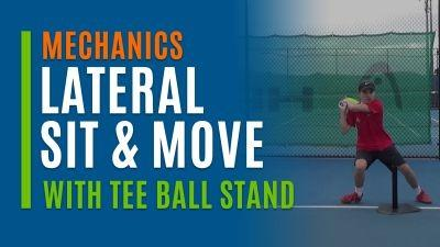 Lateral Sit & Move (With Tee Ball Stand)
