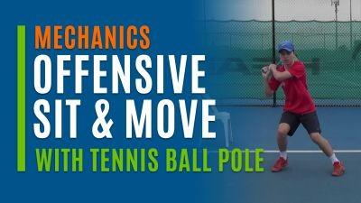 Offensive Sit & Move (With Tennis Ball Pole)