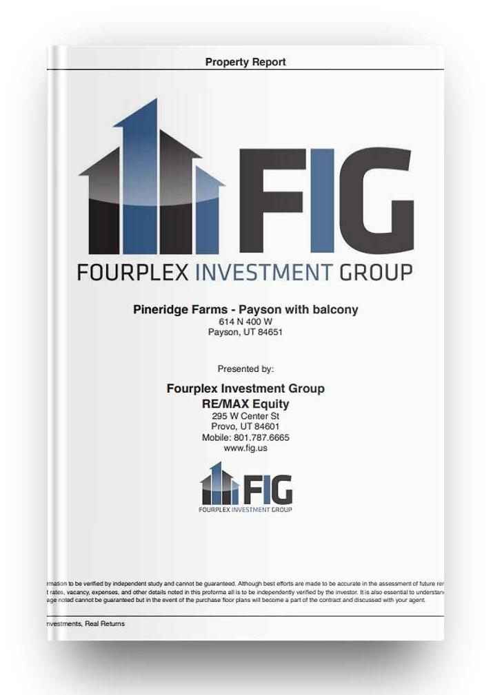 Real Estate Investment Proforma and Multifamily Market from the Fourplex Investment Group