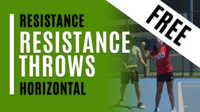 Resistance Throws (Horizontal)