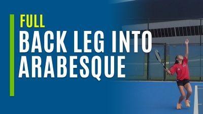 Back Leg Into Arabesque