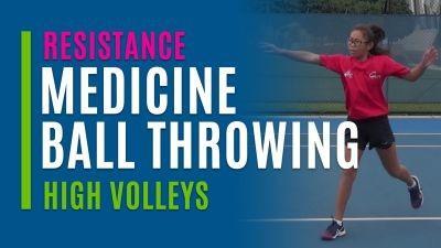 Medicine Ball Throwing (High Volleys)