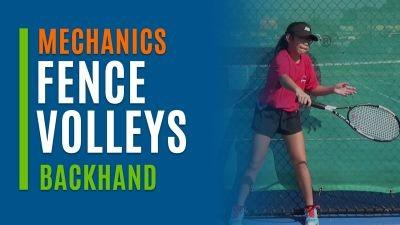 Fence Volleys (Backhand)