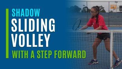 Sliding Volley (With a Step Forward)