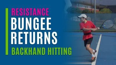 Bungee Returns (Backhand Hitting)