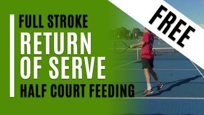 Return of Serve (Half Court Feeding)