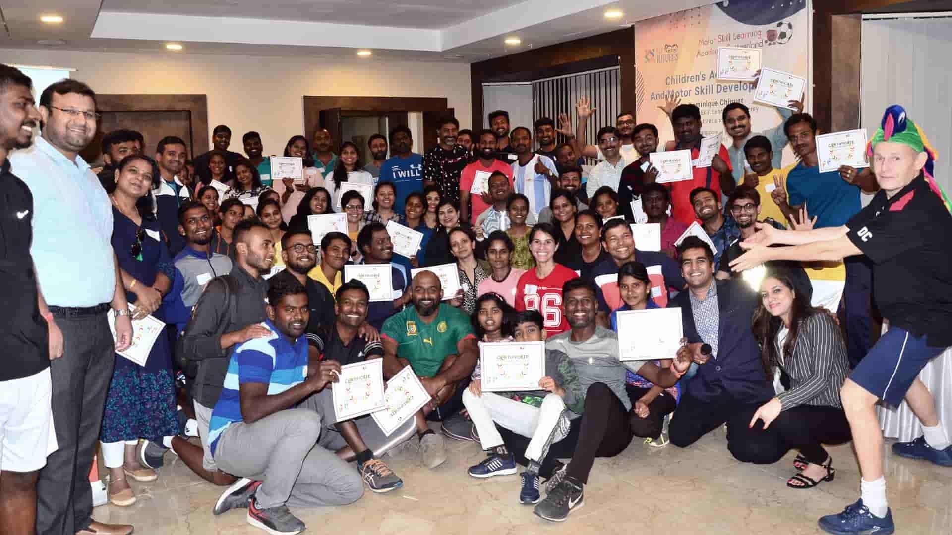 MotorSkillLearning Workshop Bangalore