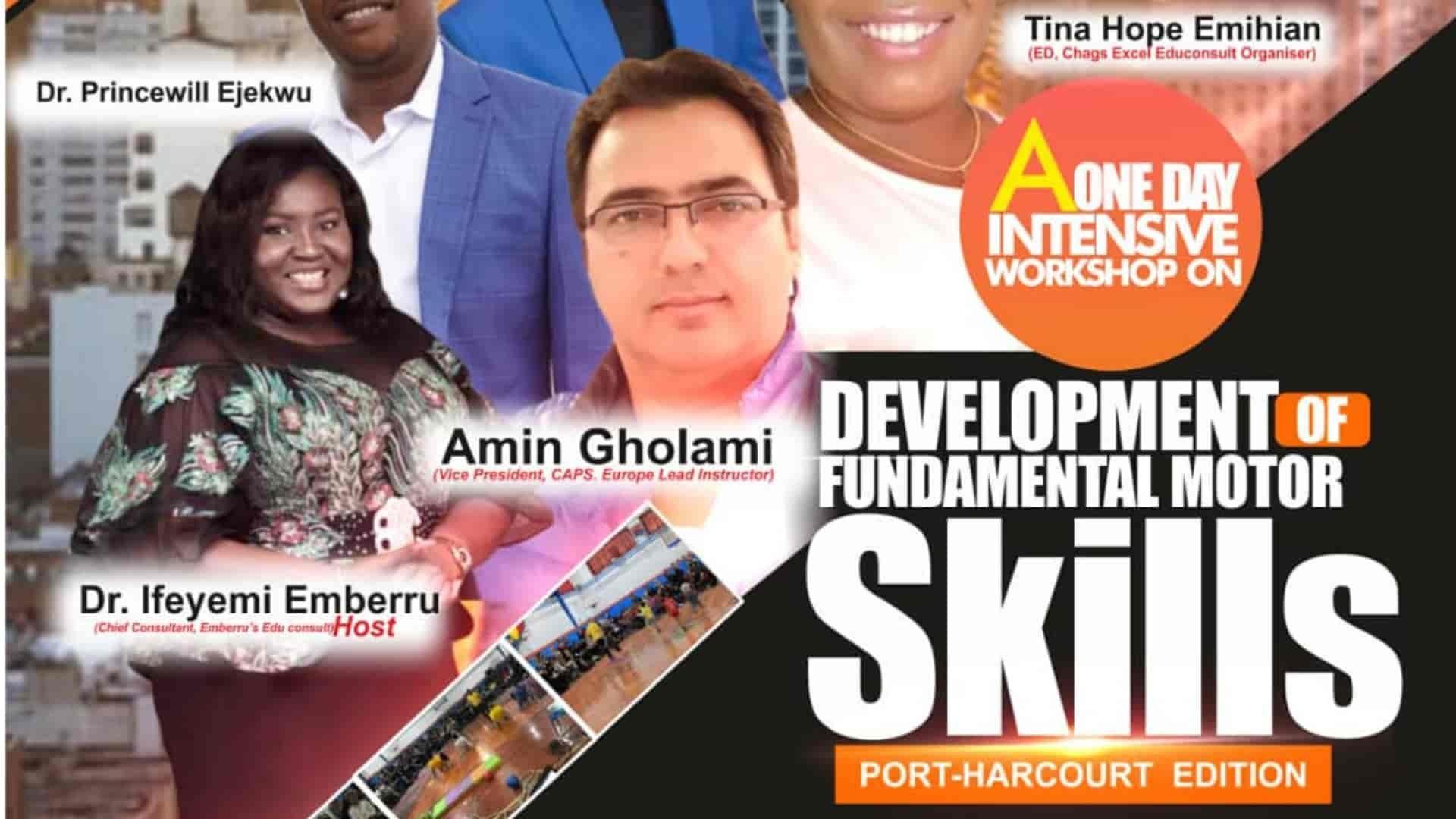 MotorSkillLearning Workshop Port-Harcourt