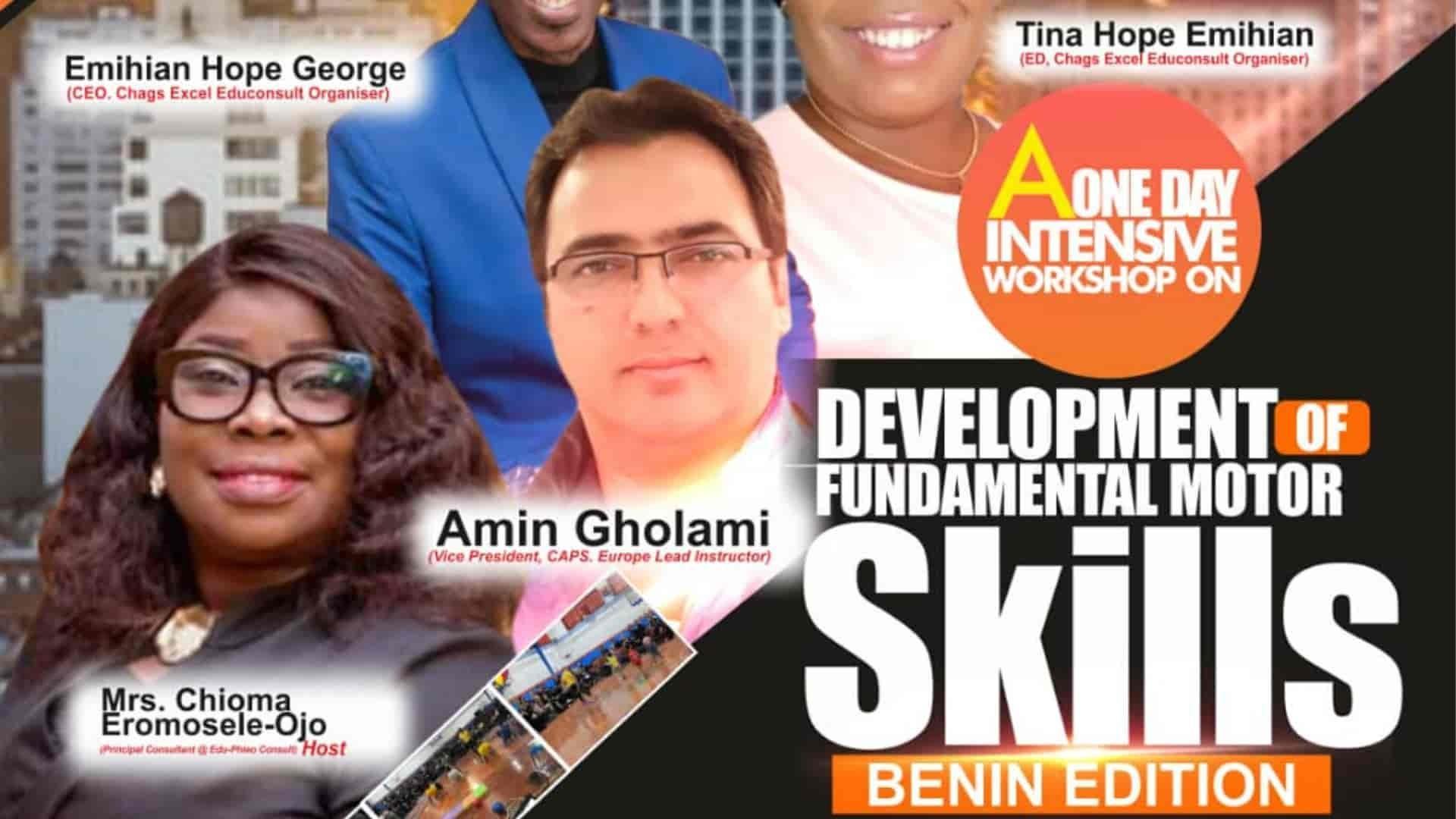 MotorSkillLearning Workshop Benin