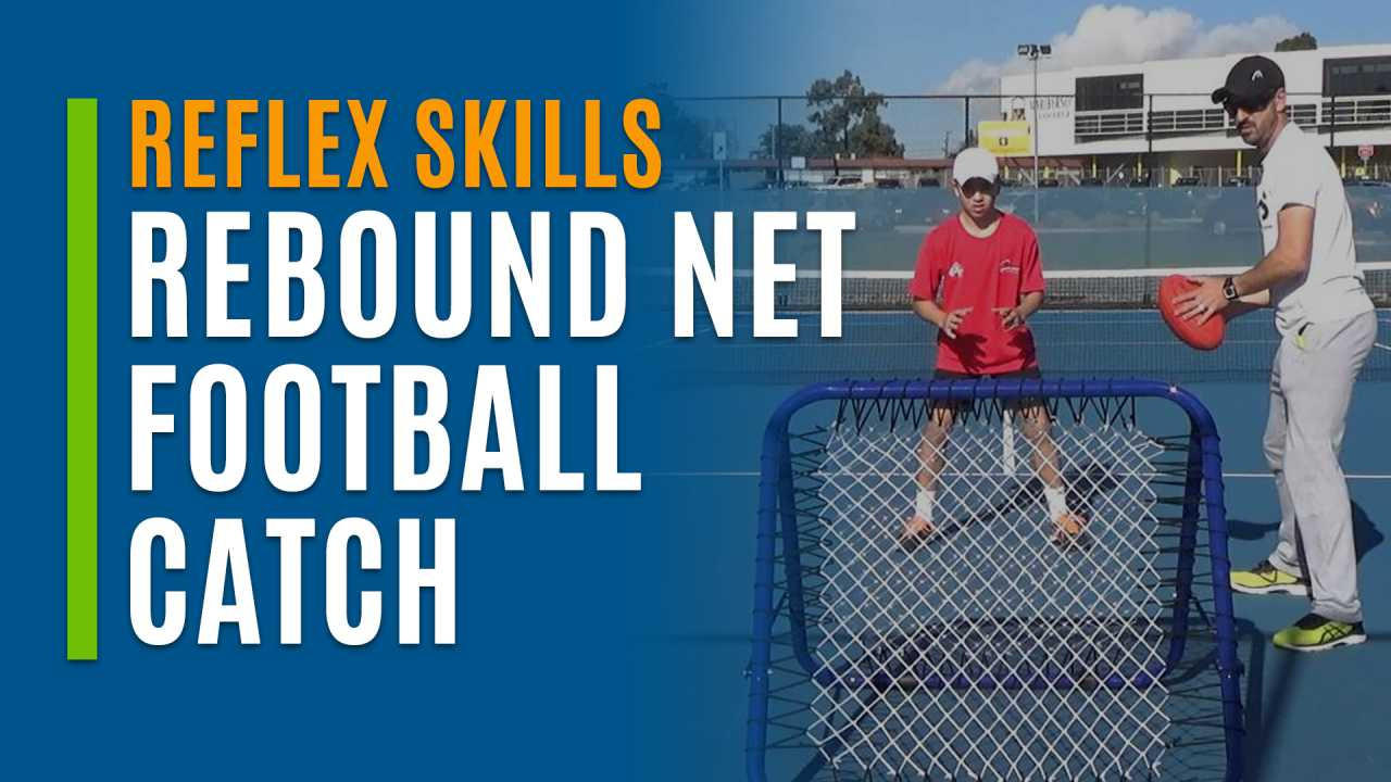 Rebound Net Football Catch