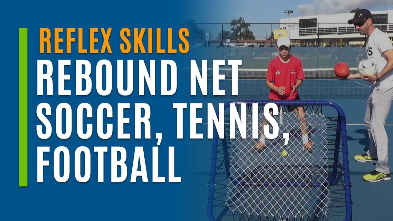Rebound Net (Soccer Tennis & Football)