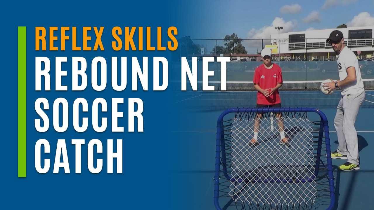 Rebound Net Soccer Catch