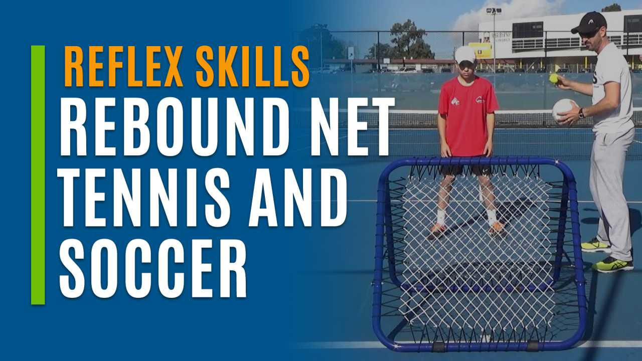 Rebound Net Tennis and Soccer
