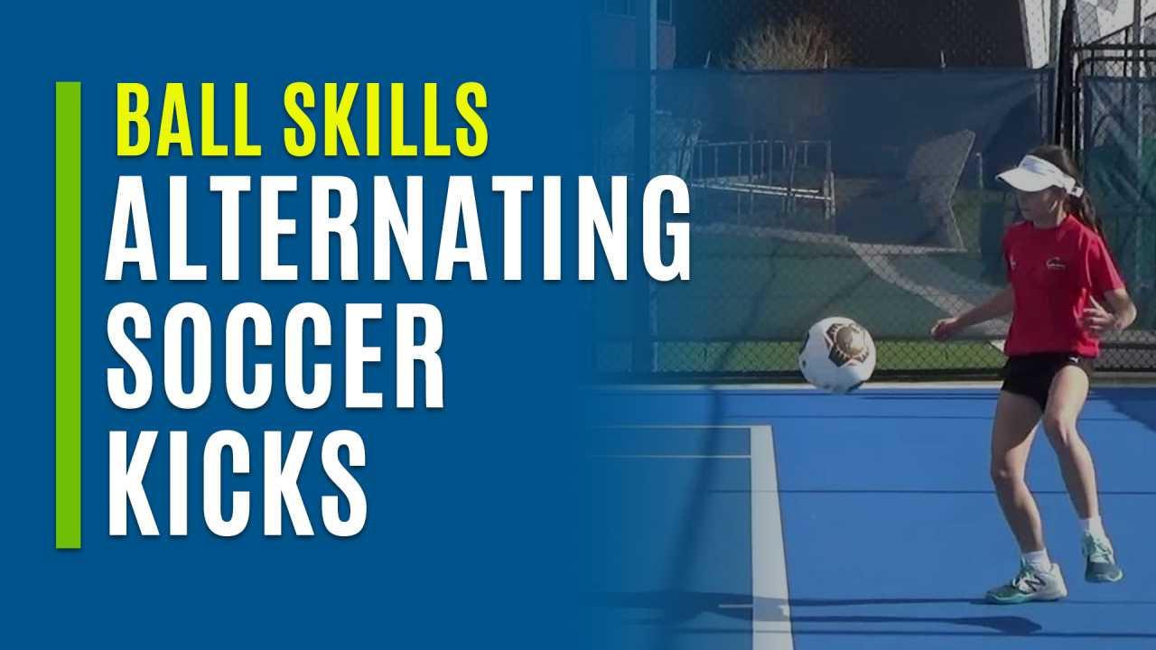 Alternating Soccer Kicks