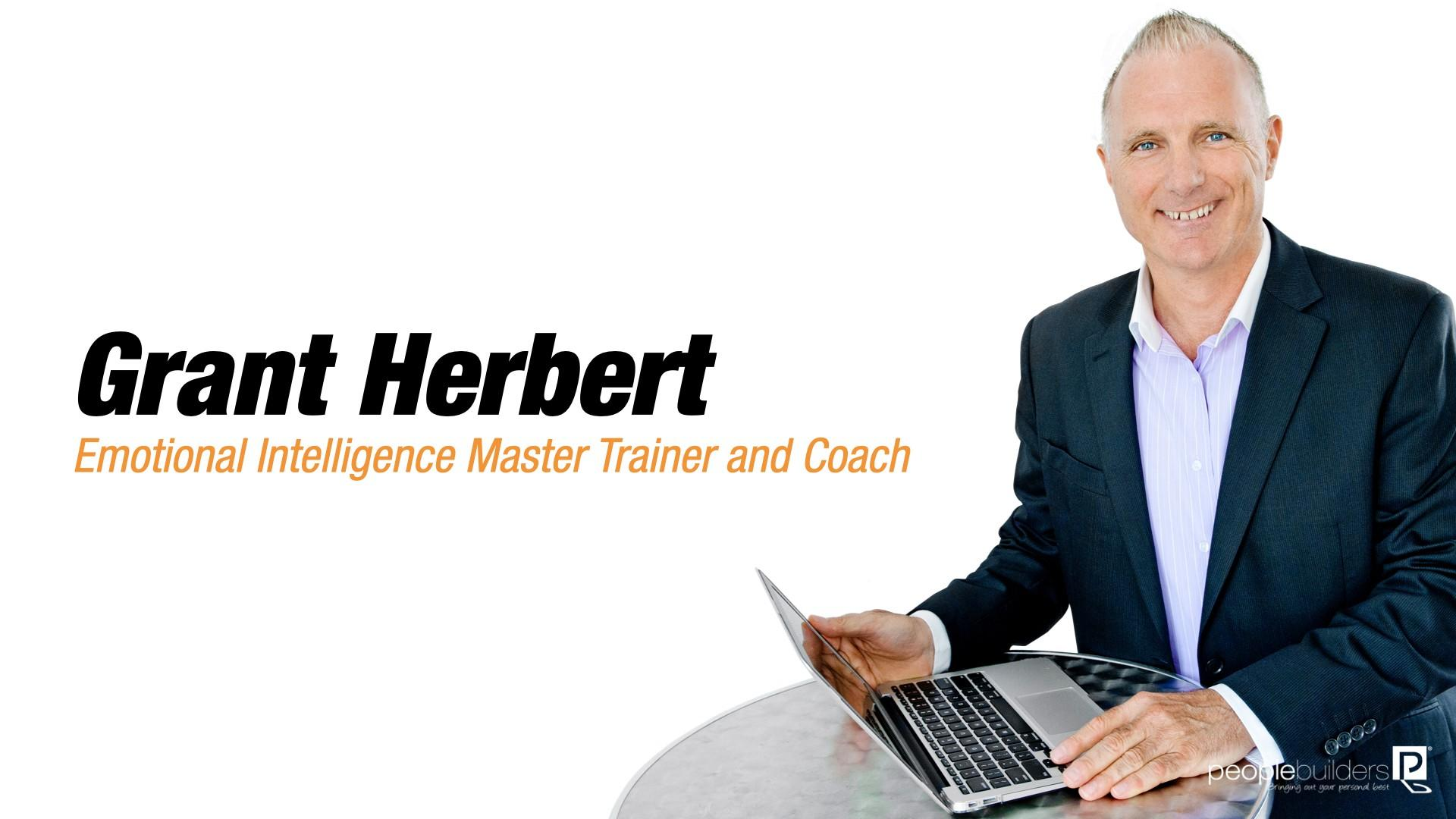 Grant Herbert Emotional Intelligence Master Trainer and Coach