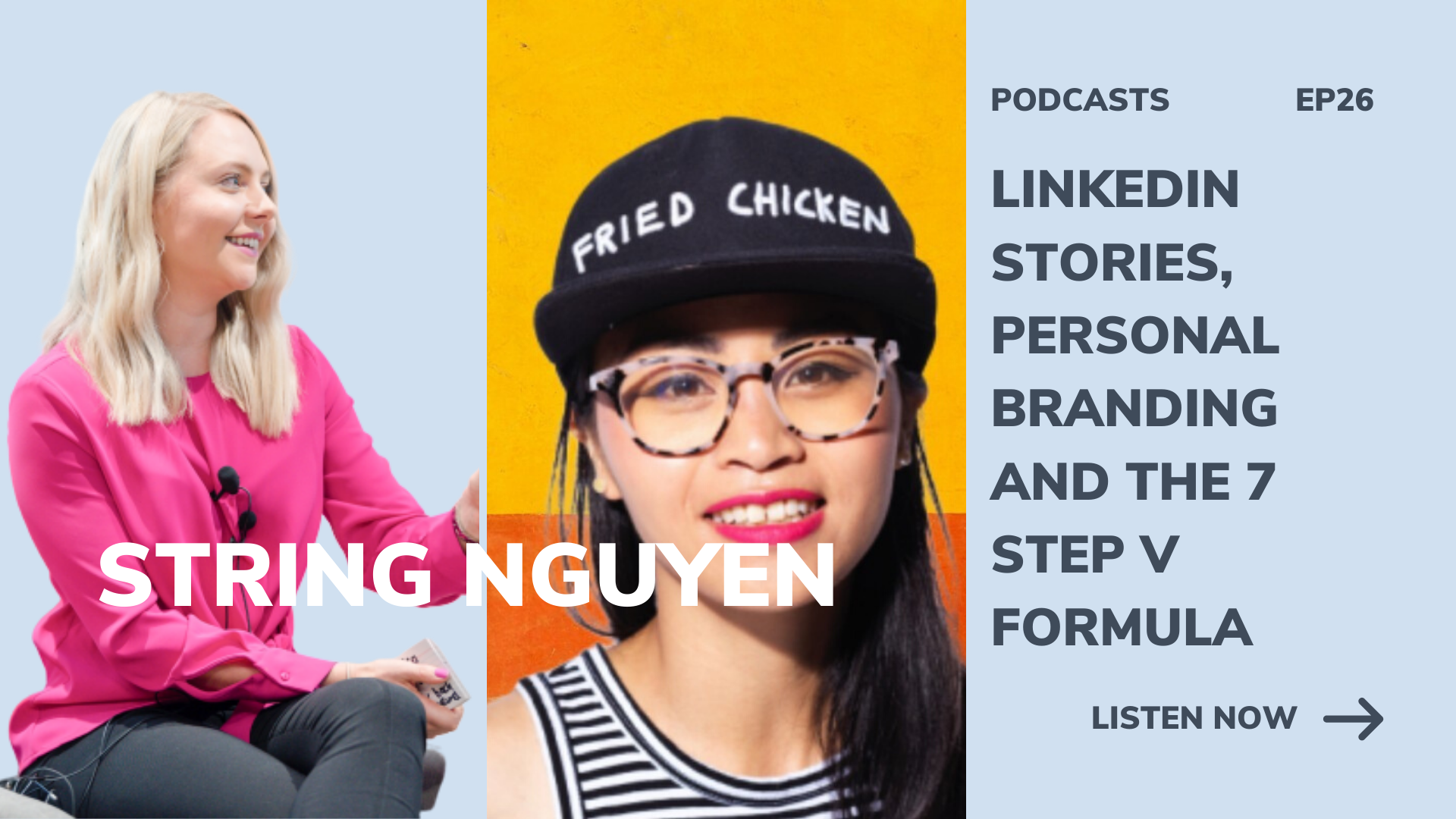 linkedin stories, personal branding and the 7 step v formula