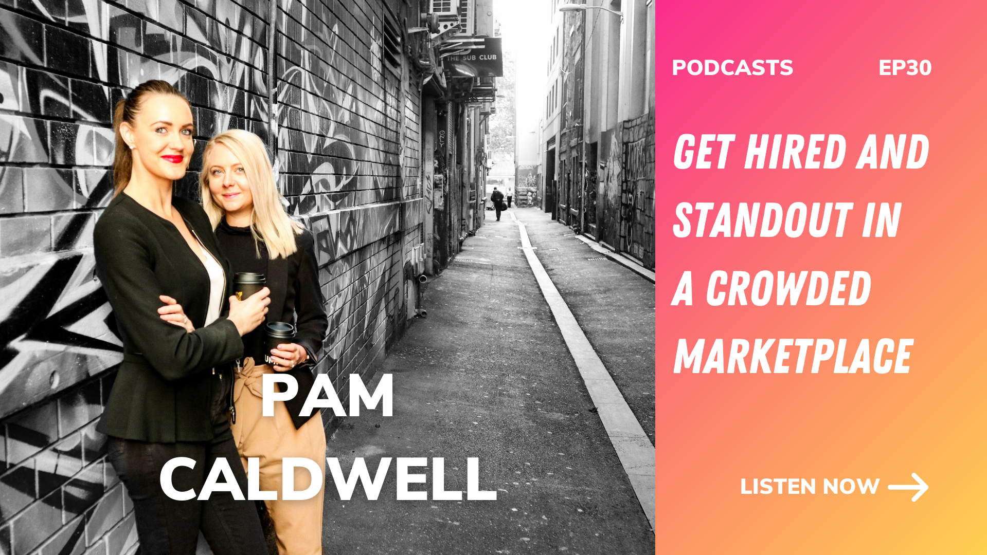 pam caldwell, get hired and standout in a crowded marketplace