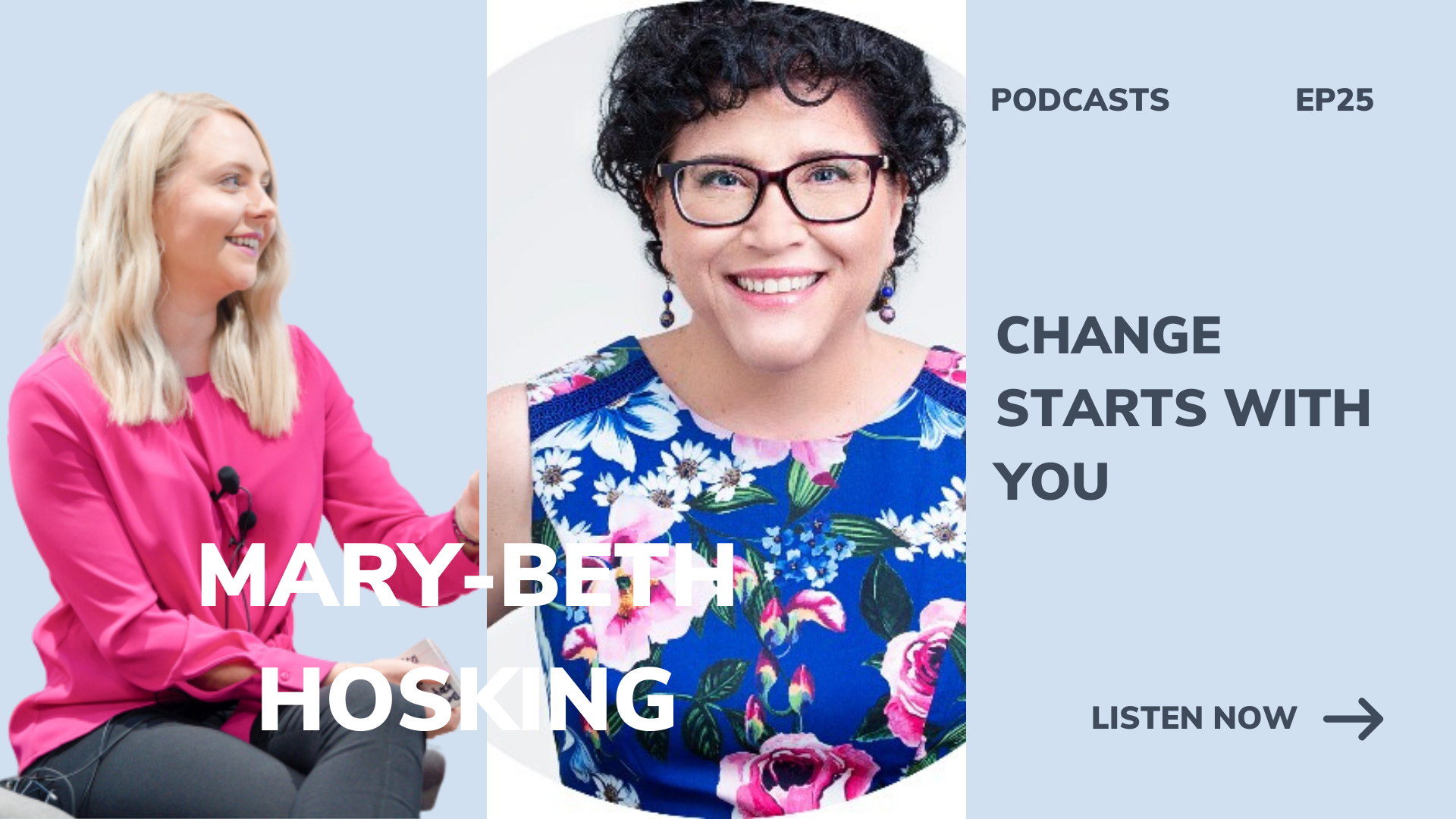 Mary-Beth Hosking Change starts with you