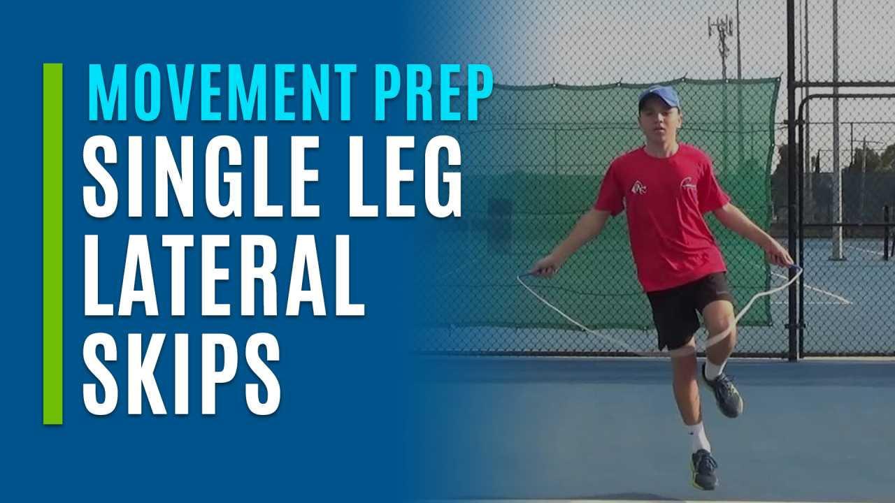 Single Leg Lateral Skips