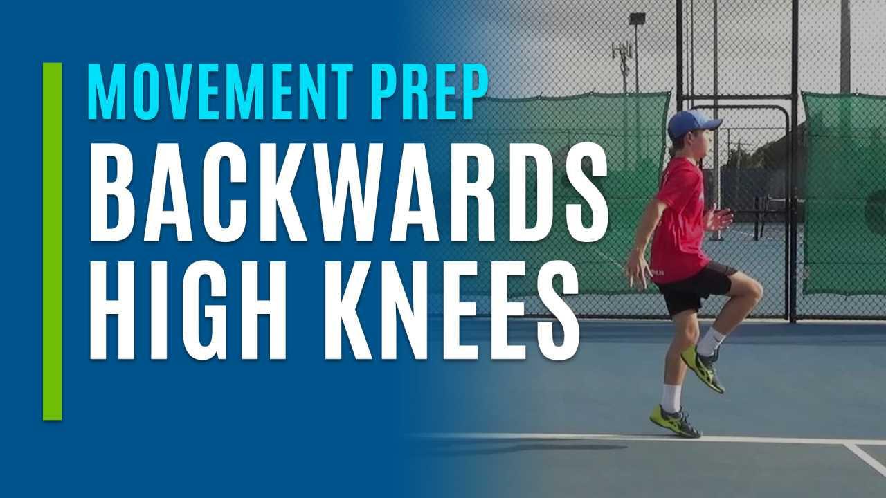 Backwards High Knees