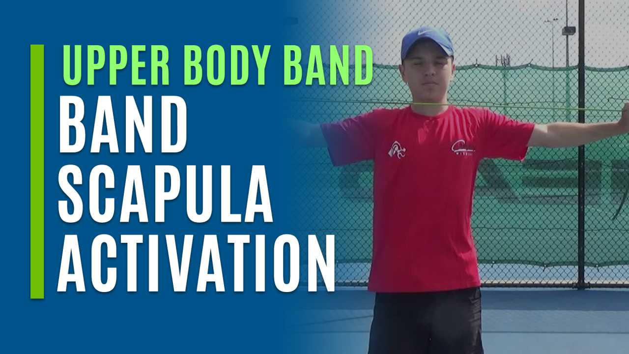Band Scapula Activation