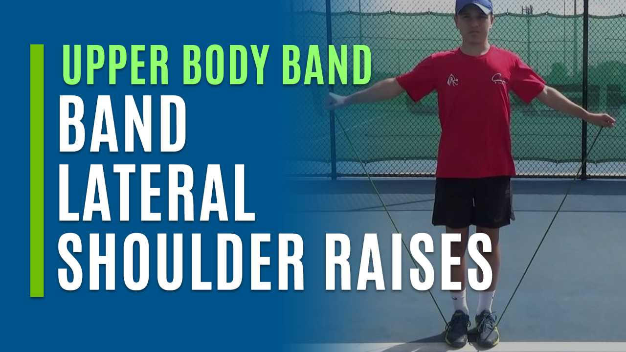Band Lateral Shoulder Raises