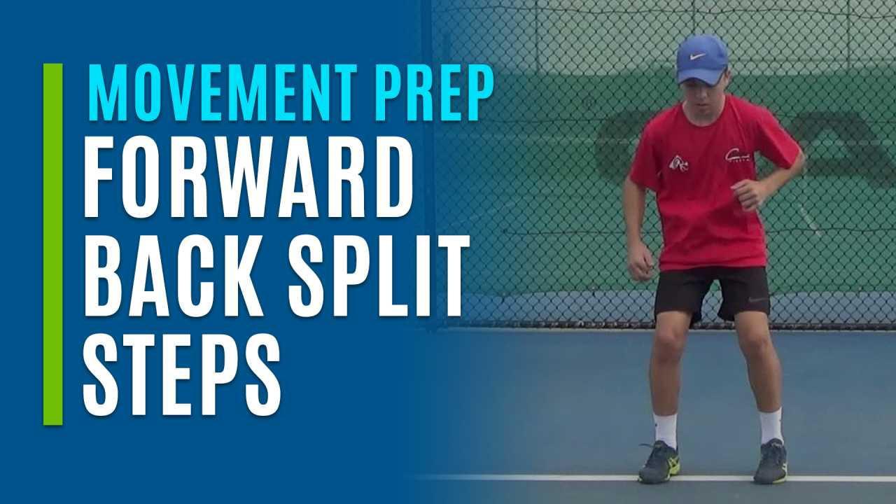 Forward Back Split Steps