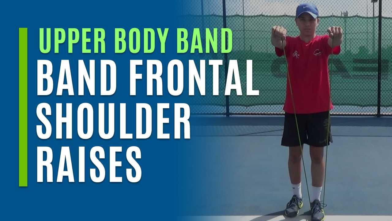 Band Frontal Shoulder Raises