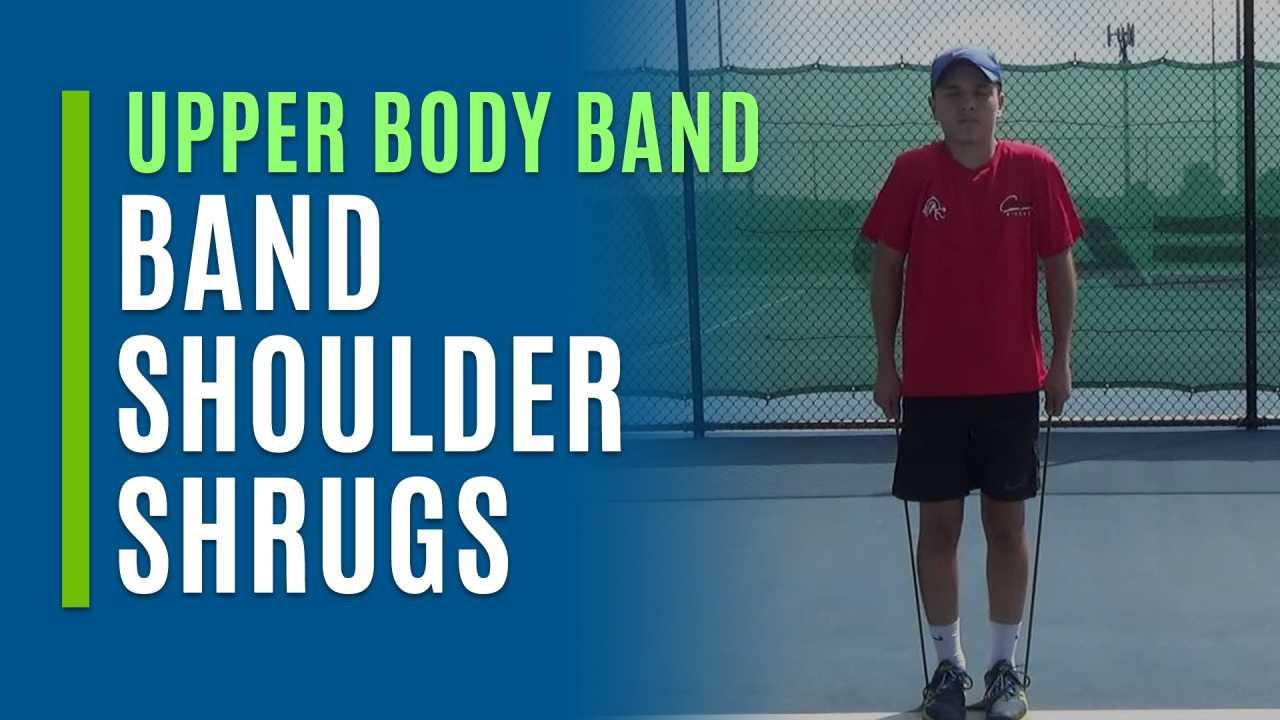 Band Shoulder Shrugs