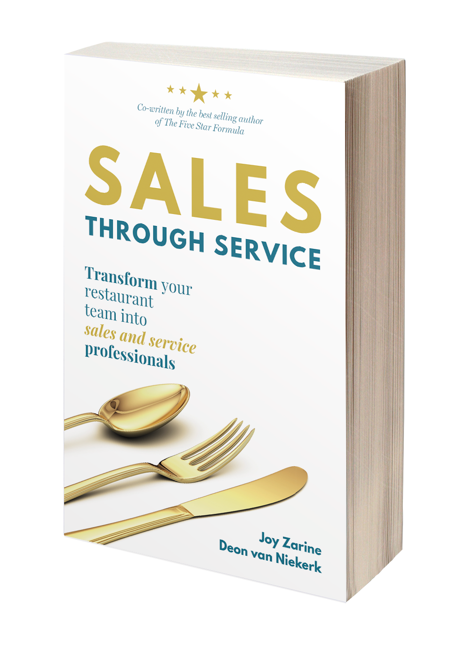 Sales Through Service - best selling hospitality book