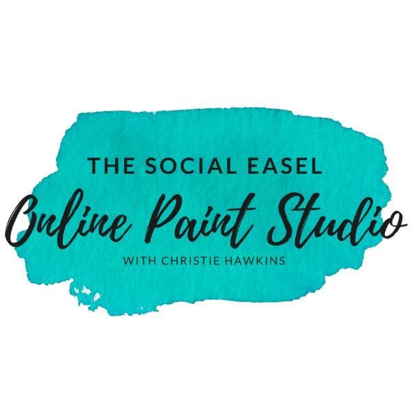 The Social Easel Online Paint Studio Header Logo