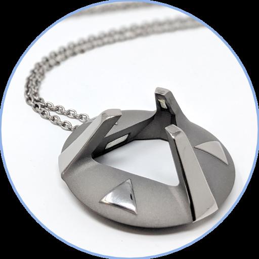 ARK crystal pendant