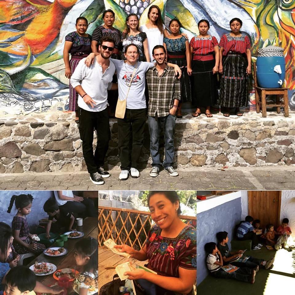 Grant Kendzior working in rural Guatemala