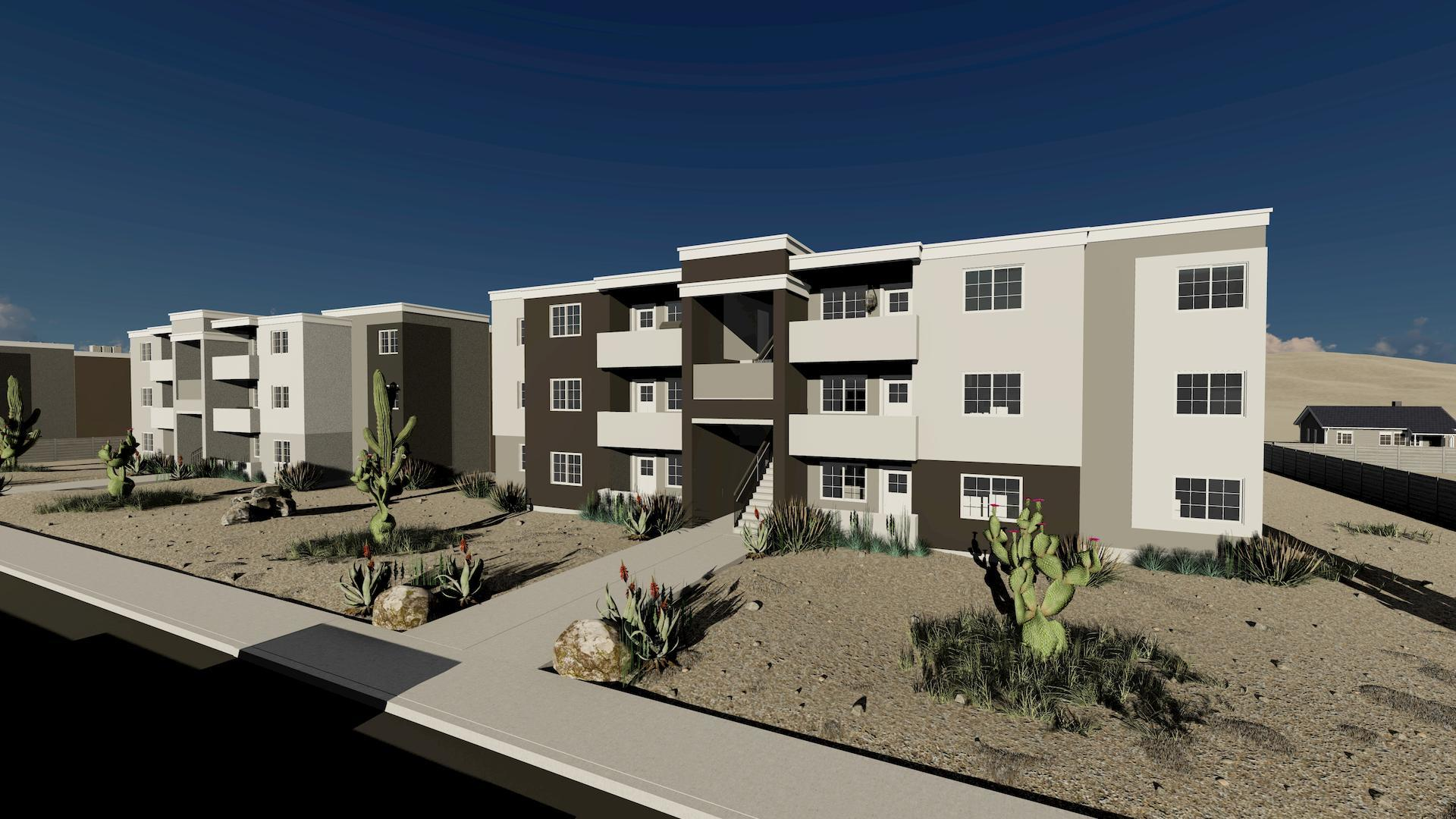 What the village on greenway multifamily investment will look like