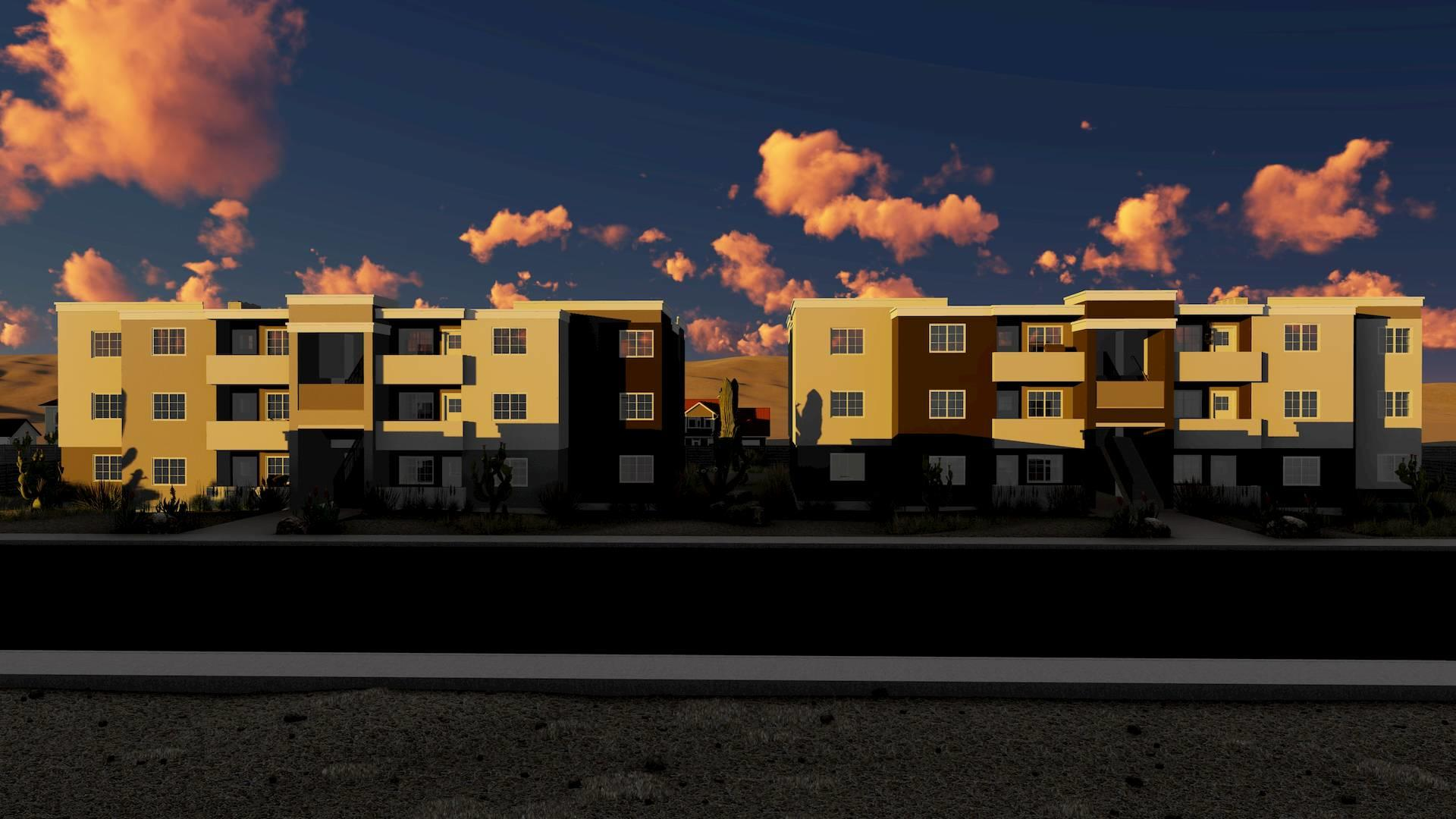Village on Greenway, a New Construction Multifamily Investment from the Fourplex Investment Group