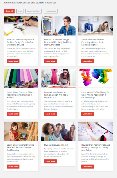 Teach Your Fashion Subject Expertise Online