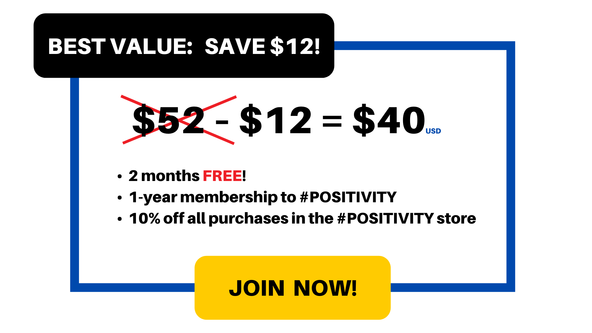Best Value: $40