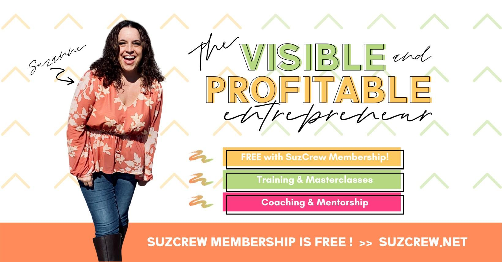 Visible and Profitable Entrepreneur