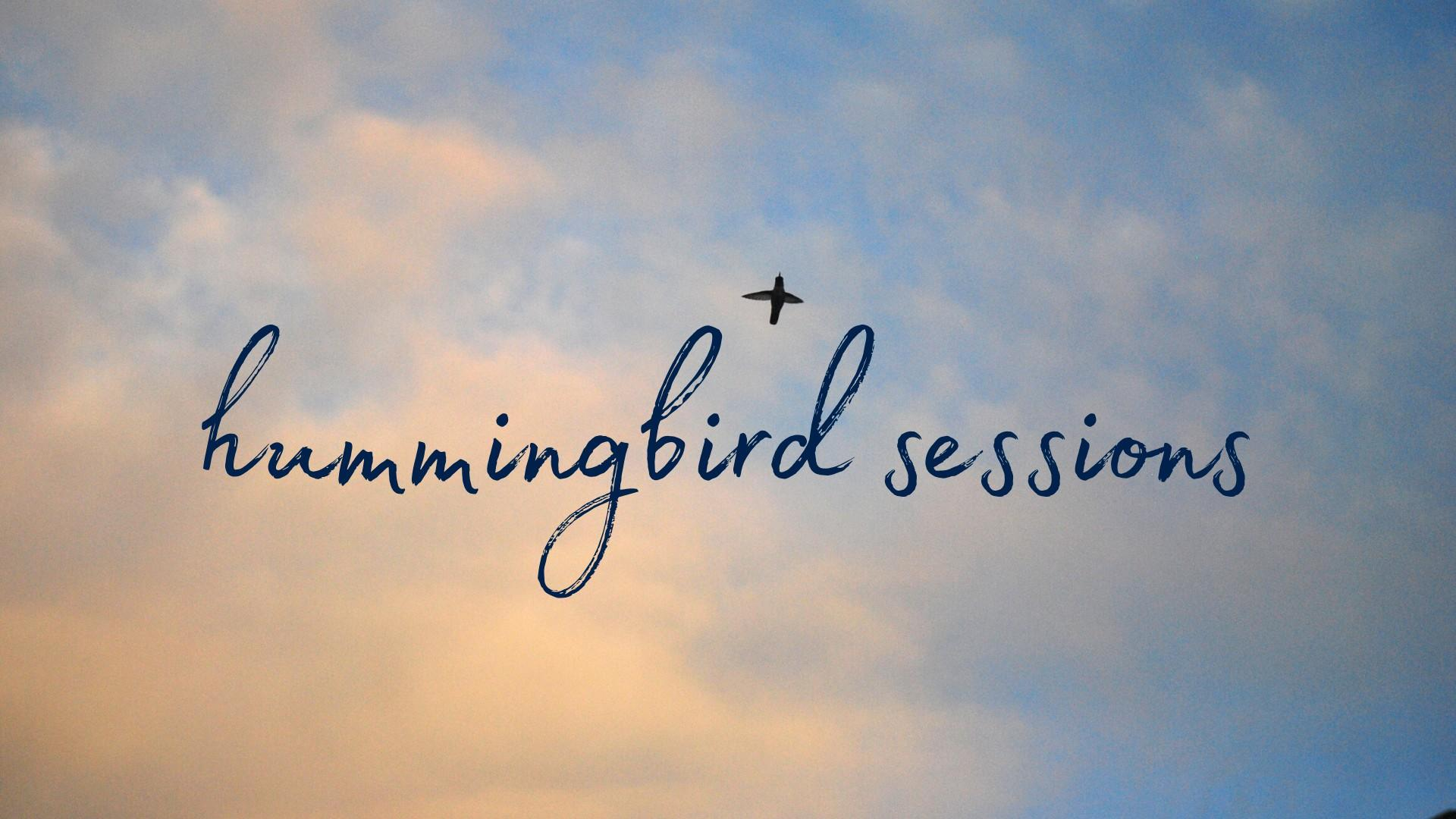 Hummingbird Sessions - free online writing sessions