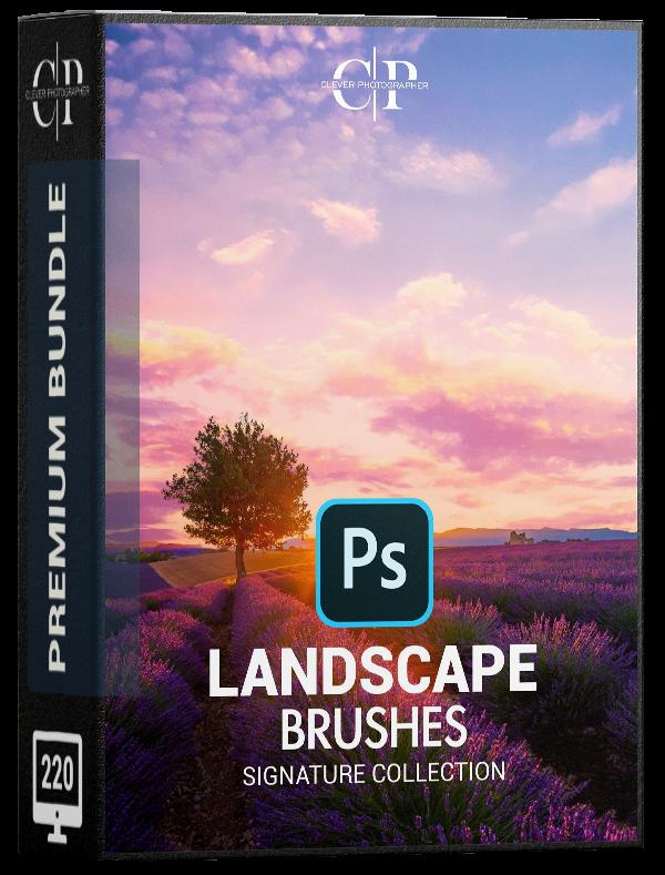 Landscape Photoshop Brush Bundle