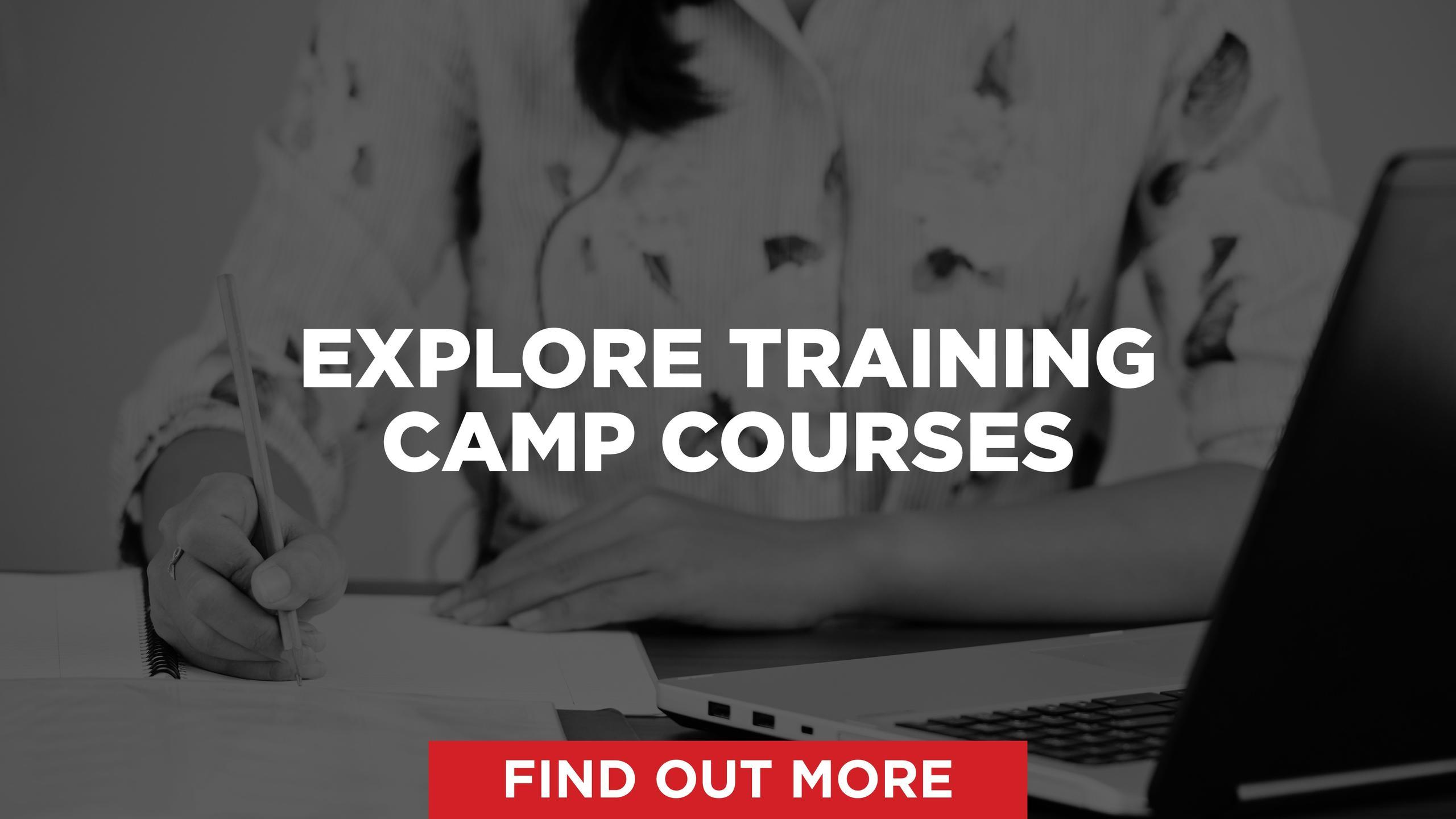 Explore Training Camp Courses