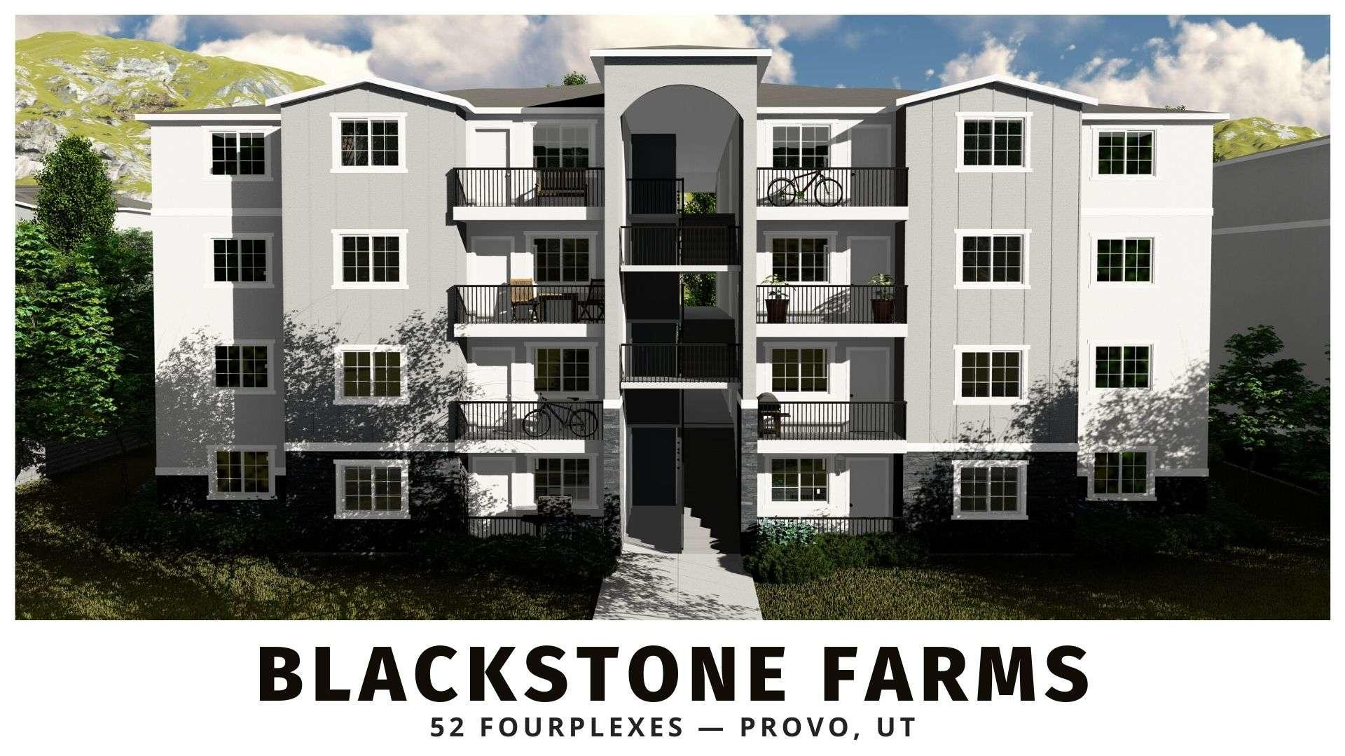 Blackstone Farms new construction multifamily in Utah County