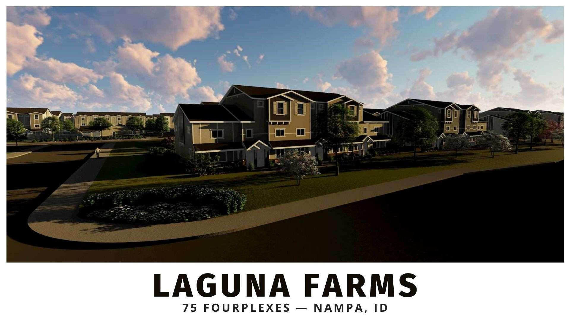 Laguna Farms fourplexes for sale in Boise, Idaho