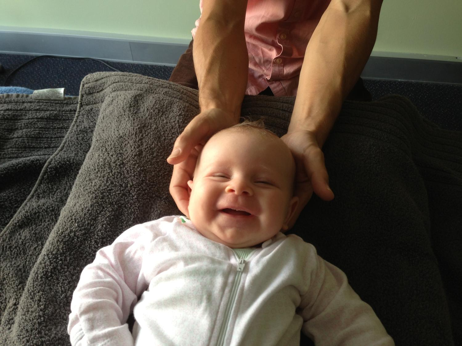 Treating Babies - By Dr Jonathan Evans (Registered Osteopath)
