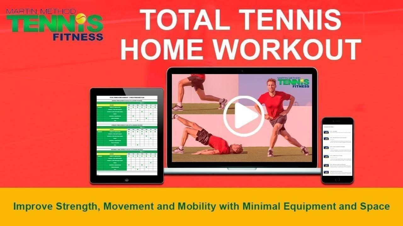 Tennis Home Workout Program