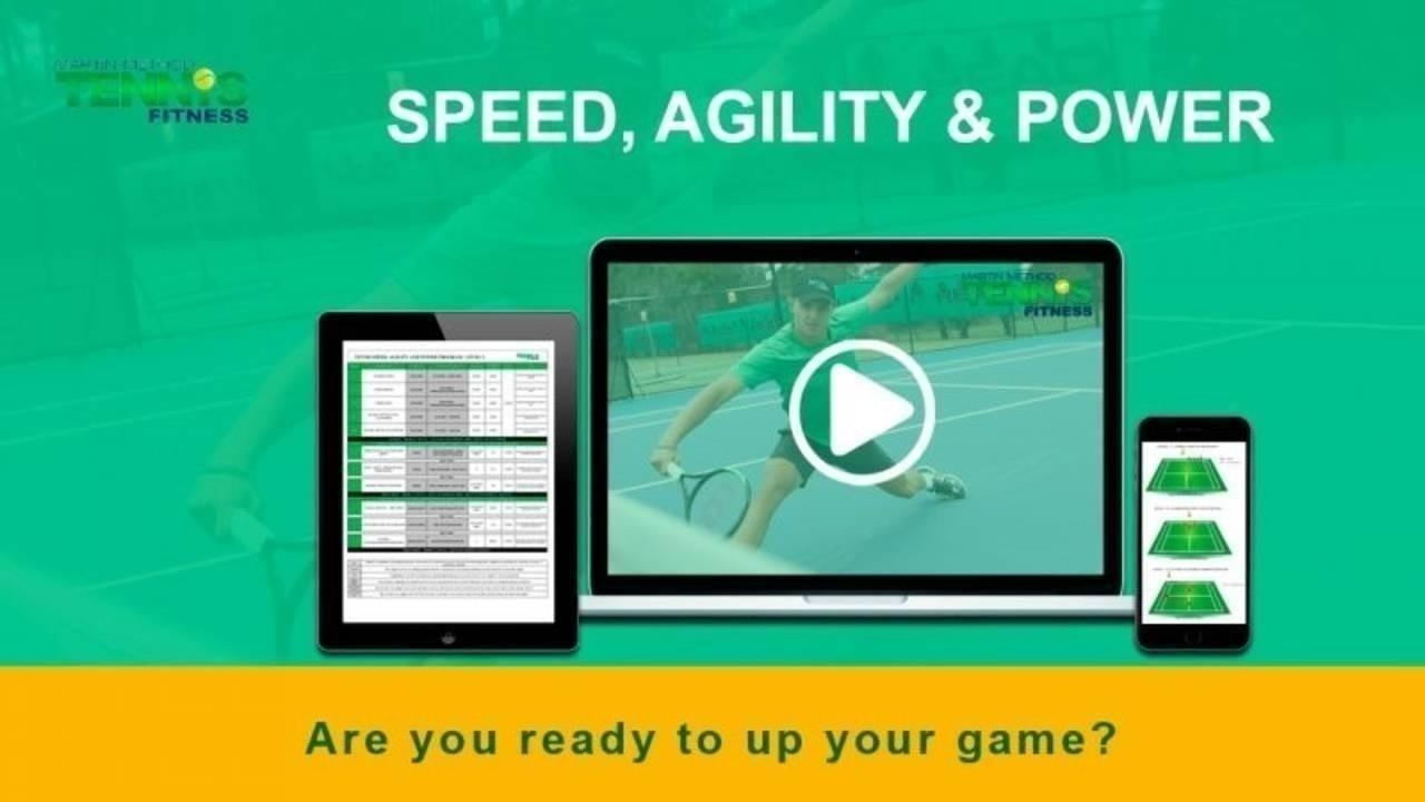 Tennis Speed, Agility and Power Program